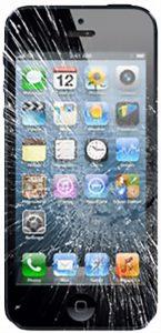 iPhone 5 cassé