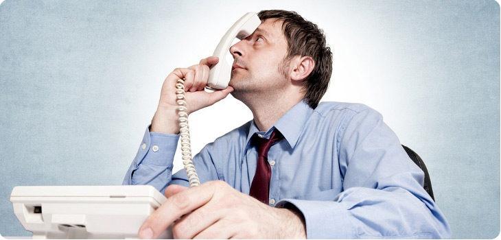 Attente téléphonique