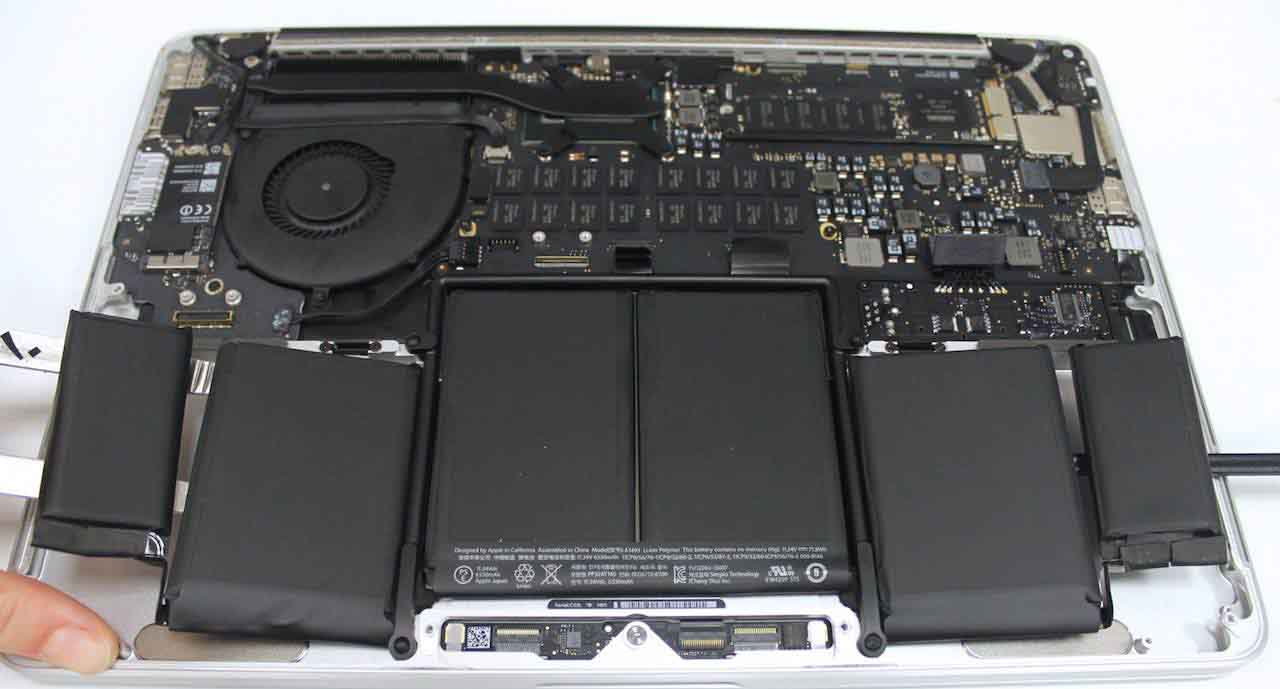 Remplacement batterie d'ordinateur portable Apple MacBook