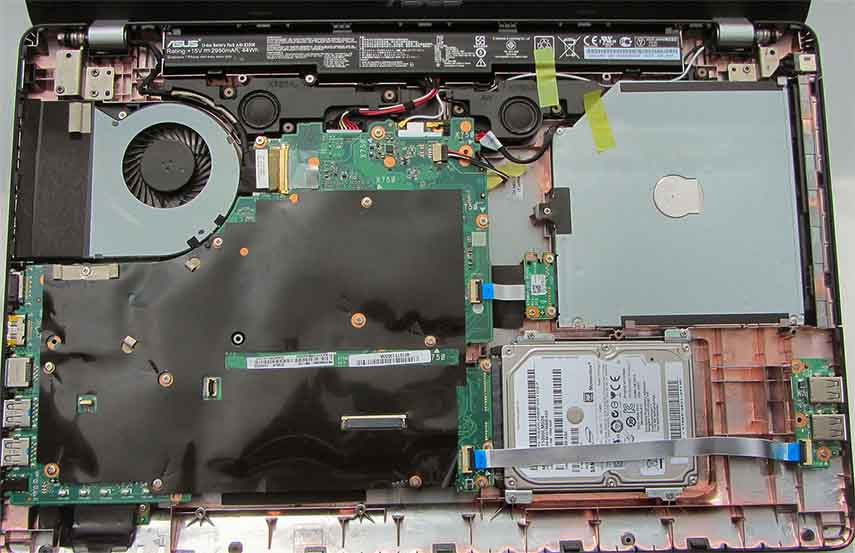 Remplacement batterie d'ordinateur portable PC