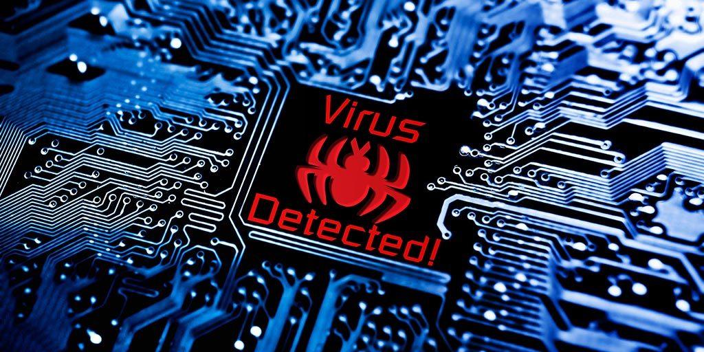 Virus informatique résident